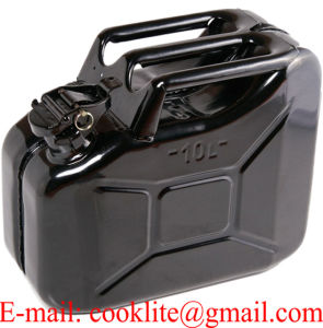 Jerry Can 10L Nato Style Gasoline Fuel Can Metal Gas Tank Emergency Backup pictures & photos