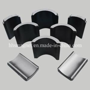 Sintered Ferrite Arc Segments Magnet Used in Motor pictures & photos