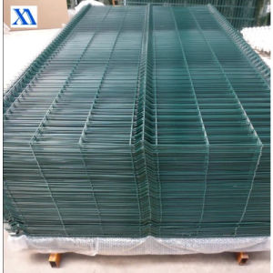 PVC Coated Welded Wire Mesh Fence Panels (XA-WP14) pictures & photos