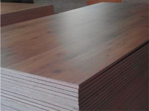 Good Quality Oak Color Melamine Plywood for Furniture pictures & photos
