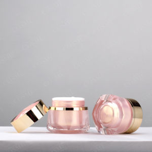 Plastic Cosmetic Jar Cosmetic Container Face Cream Jars pictures & photos