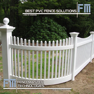 Vinyl Fencing with Super Durability pictures & photos