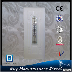 Fangda with Glass Arch Lite Steel Door pictures & photos