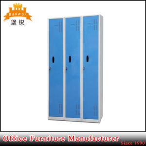 Hospital and Workshop Kd Strcture Colorful 3-Door Locker pictures & photos