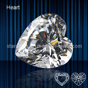 High Quality Heart Shape Cubic Zirconia pictures & photos