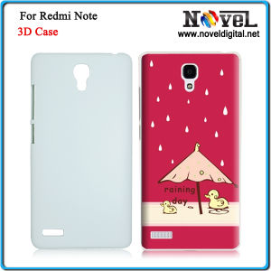 New 3D Sublimation Blank Phone Cover for Redmi Note