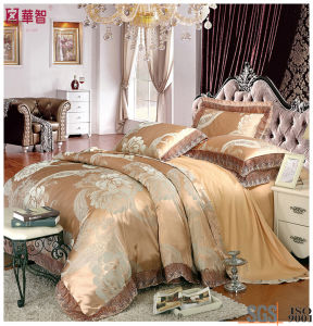 High Quality Luxry Cotton Jacquard Bedding Sets pictures & photos