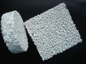 Top Quality Alumina Ceramic Foam Filter (Molten metal filter) pictures & photos