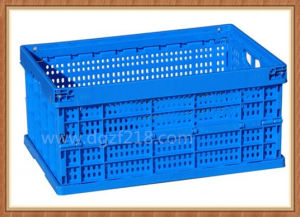 China Customerized Superior Novel Plastic Foldable Basket for Storage Supplier pictures & photos