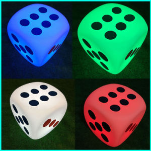 LED Lighting Dice Outdoor Furniture Nightclub Bar Garden Decoration pictures & photos