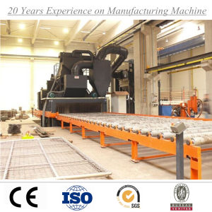Roller Conveyor Through Steel Plate Shot Blasting Machine with Ce ISO SGS pictures & photos
