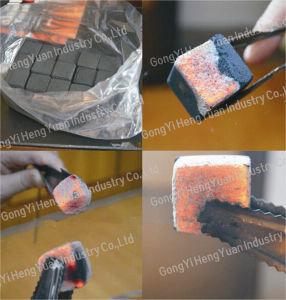Low Cost Customize Hookah Shisha Charcoal Briquette Machine Line pictures & photos