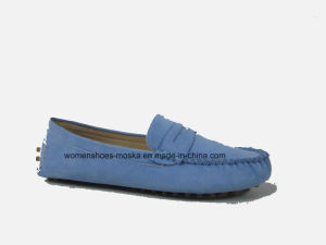 Hot Sale Wholesale Women Fashion Flat Ballerina Shoes with Round Toe pictures & photos