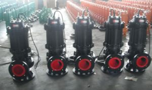 High Quality Cast Iron Sewage Submersible Pump (WQ60-10-4) pictures & photos
