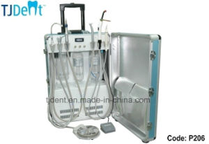 Portable and Easy to Carry Simple Operate Dental Unit (P206) pictures & photos