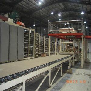 Construction Fiberglass Gypsum Board Making Machine pictures & photos