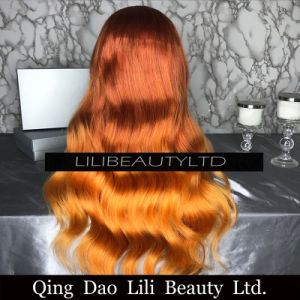 Fashion Body Wave Blonde Wig Preplucked Hairline Brazilian Hair Wigs for African American pictures & photos