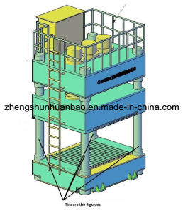 BMC and SMC Manhole Cover Hydraulic Press
