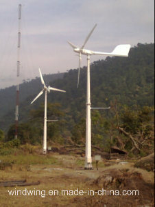 10kw Horizontal Wind Turbine Generator with on-Grid Controller and Inverter pictures & photos