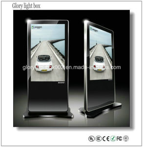 47′′ Free Standing LED Backlit Advertising Digital Panel pictures & photos