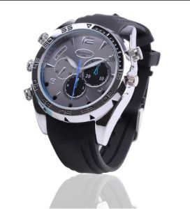 Camera Watch 1080P Waterproof Micro 4LED for Night Vision Video Record 4GB-16GB (QT-IR014) pictures & photos