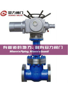 Manual Bevel Gear Electric Operated Flange Gate Valve pictures & photos