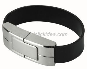 Promotional Gift Bracelet Leather USB Flash Drive/USB Disk