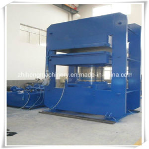 Hot Plate Hydraulic Vulcanizing Press Rubber Machine pictures & photos