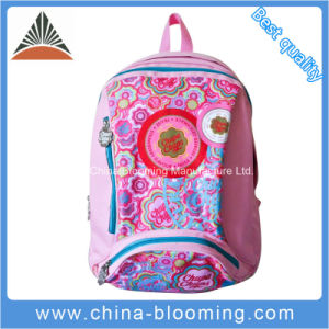 600D Polyester Girls Sublimation Student School Backpack Bag pictures & photos