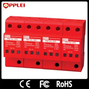 AC Power 100ka 385V 4p Three Phase Surge Protective Device pictures & photos