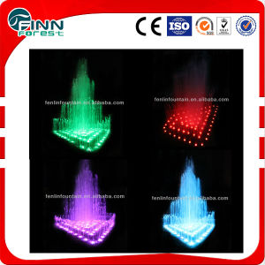 Stainless Steel 304 Material Seven Color Dancing Water Fountain pictures & photos