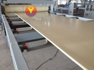 WPC Foam Board Plastic Machinery pictures & photos