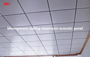 Microporous Aluminum Acoustic Ceiling Panel Roof Panel Decoration Ceiling Board pictures & photos