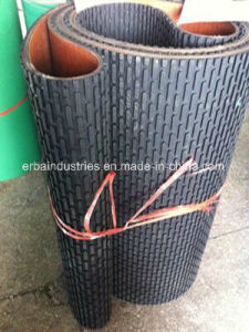 Rubber Ribbed Wood Sanding Belt pictures & photos