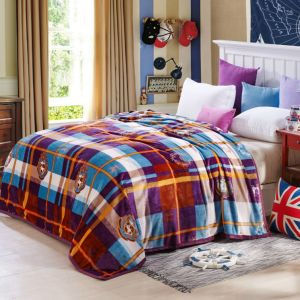 Hot Sale Super Soft Printed Flannel Blanket Coral Fleece Blanket (SR-B170318-2) pictures & photos