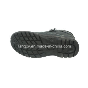 Professional Nubuck PU+TPU Outsole Safety Shoe (HQ03029) pictures & photos