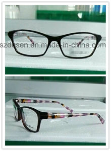 Wholesale Eyewear Popular Acetate Eyeglasses Optical Frames pictures & photos