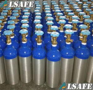 Blue Neck, Silver Body Aluminium Medical Oxygen Tanks pictures & photos