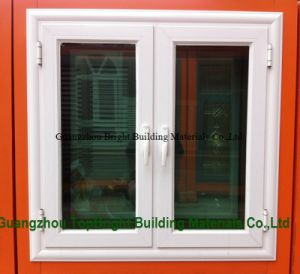 White Aluminium Profile Glass Casement Window Manufacturer pictures & photos