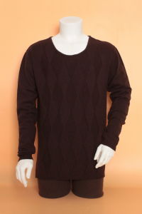 Men′s Yak Wool/Cashmere Round Neck Pullover Long Sleeve Sweater/Clothing/Knitwear/Garment pictures & photos