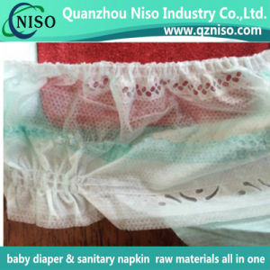 Hydrophobic Side Sheet Nonwoven for Baby Diaper pictures & photos