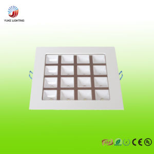 Slim 16W LED Grille Panel Light with Certificate