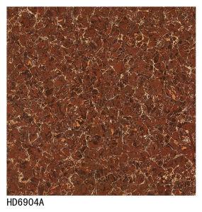 600X600 800X800 Bulati Series Red Pulati Double Loading Polish Porcelain Tile pictures & photos