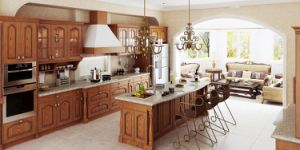 Modern Classic Style Sharker Solid Wood Kitchen (zq-016) pictures & photos