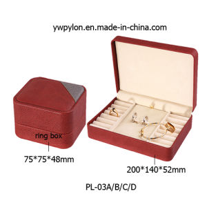 Newly High-End Plastic Jewelry Box (PL-03A/B/C/D)