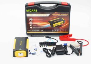 High Quality Strong Power DC12V Battery Car Jump Starter with Air Compressor pictures & photos