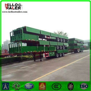 Widely Used 3 Axle Side Wall Semi Trailer for Sale pictures & photos