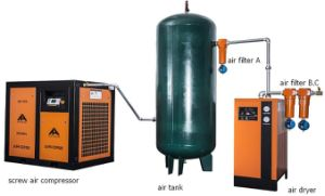 Low Noise Direct Driven Double Screw Air Compressor pictures & photos