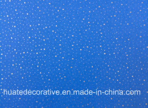 Gold Metallic Melamine Decorative Paper for Laminate with Fantastic Design and Various Color pictures & photos