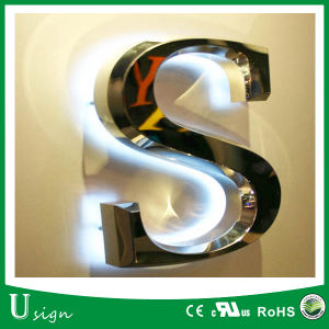 High Quality 12V LED Stainless Channel Letters for Shopping Mall pictures & photos
